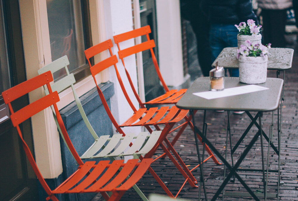 Cartago: Outdoor Patio for a Neighbourhood Gathering Spot