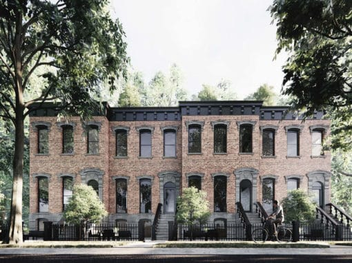 Haynes Homes: Missing Middle Brownstones in Glenora