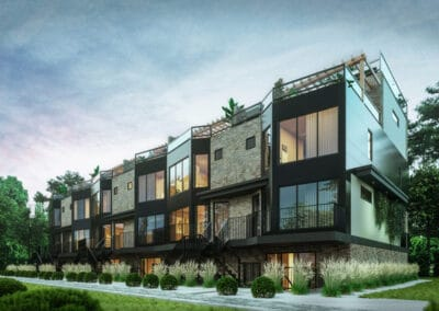 Euro Design Master Builder: Infill Row Housing in Westmount